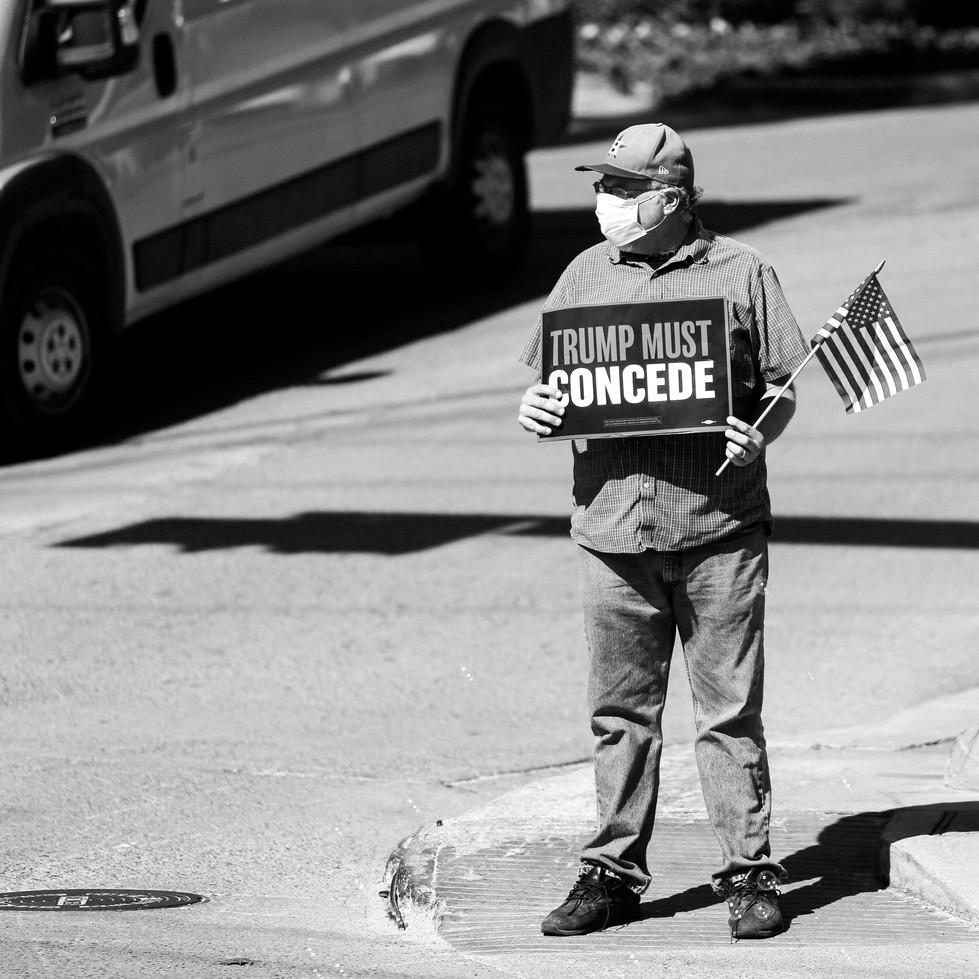 Protestor // 2020
