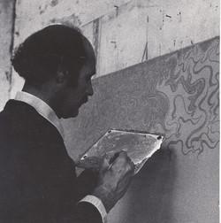1974-Boille-studio-via-Flaminia.-Foto-Roberto-Bettoia