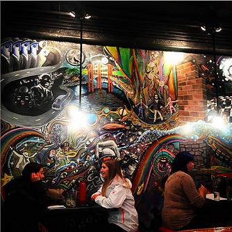 Taco Junky Mural
