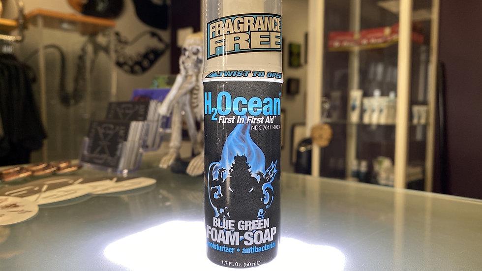 1.7 Fl. 0z Blue Green Foam Soap