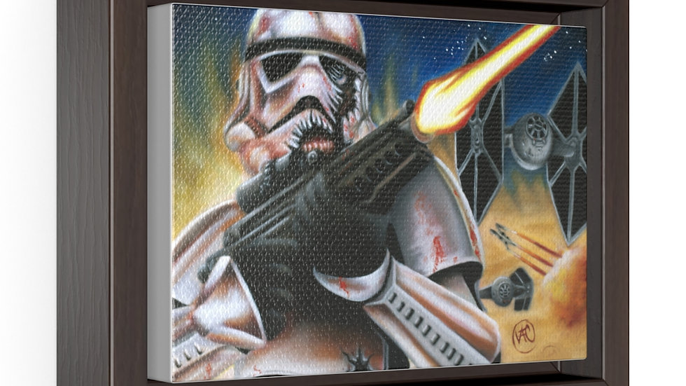 Storm Trooper Wrap Canvas