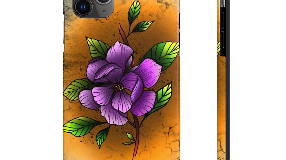 Magnolia Flower Case Mate Tough Phone Cases