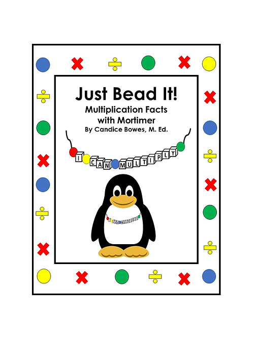 Just Bead It! - Multiplication Facts with Mortimer