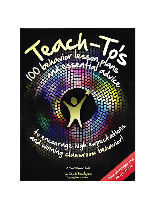 Teach To's Book for Classroom Management