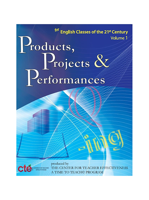 Products, Projects, and Performances - English