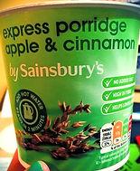 EXPRESS PORRIDGE Apple & Cinnamon