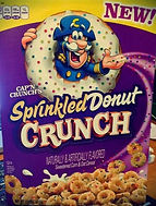 CAP'N CRUNCH'S Sprinkled Donut Crunch