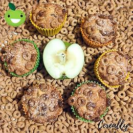 Apple & honey hoops muffins