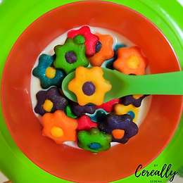 Sugar cookie flower cereal