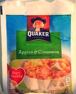 INSTANT OATMEAL Apples & Cinnamon