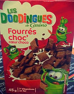 LES DOODINGUES Fourrés Choc' Coeur Choco