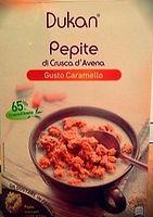 PEPITE DI CRUSCA D'AVENA Gusto Caramello (Caramel Flavoured)