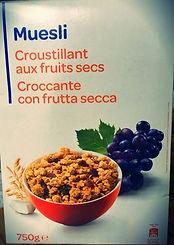 MUESLI Croustillant Aux Fruit Secs
