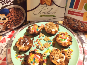 Breakfast Panettone cups