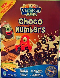 CARREFOUR KIDS Choco Numbers