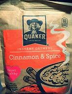 INSTANT OATMEAL Cinnamon & Spice
