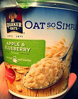 OAT SO SIMPLE Apple & Blueberry