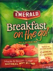 BREAKFAST ON THE GO! Maple & Brown Sugar Oatmeal Nut Blend