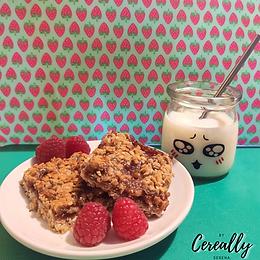 Peanut Butter & Jam breakfast bars