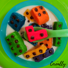 Sugar cookie LEGO cereal
