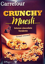 CRUNCHY MUESLI Intenso cioccolato fondente