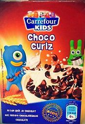 CARREFOUR KIDS Choco Curlz