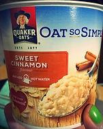 OAT SO SIMPLE Sweet Cinnamon