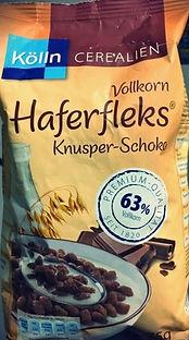 VOLLKORN HAFERFLEKS KNUSPER-SCHOKO