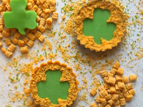 Shamrock Pies with CAP'N CRUNCH