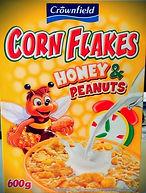 CORN FLAKES HONEY & PEANUTS
