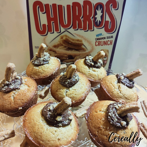 Churros surprise muffins