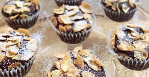 Chocolate desert rose surprise muffins