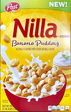 Nilla Banana Pudding cereal