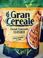 GRAN CEREALE Mix di cereali croccanti e mandorle