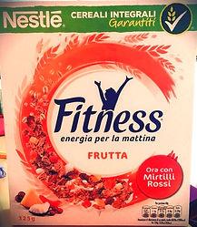 FITNESS Frutta