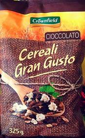 CEREALI GRAN GUSTO Cioccolato