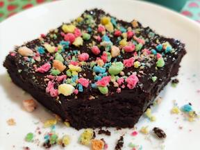 Sourdough cosmic brownies