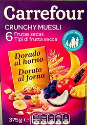 CRUNCHY MUESLI Frutas Secas