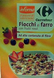 FIOCCHI Di FARRO con Frutti Rossi