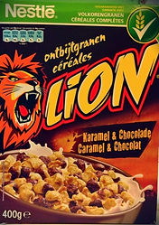 LION Cereales Karamel & Chocolade