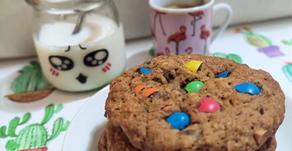 Sourdough discard monster cookies