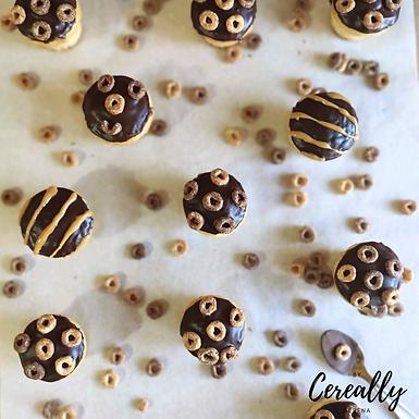 Chocolate & Peanut Butter mini muffins