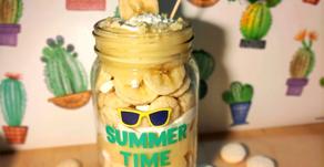Cereally Banana Cream Parfait
