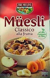 Muesli classico alla frutta