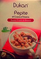PEPITE DI CRUSCA D'AVENA Gusto Frutti Di Bosco (Mixed Berry Flavoured)