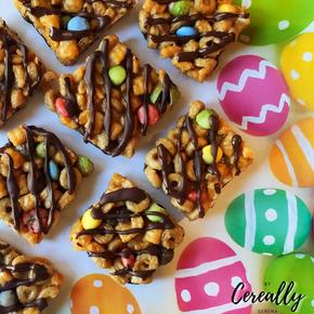 No bake cereal candy bars