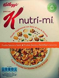 SPECIAL K NUTRI-MI Frutta Secca E Semi