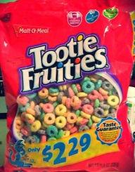 Tootie Fruities