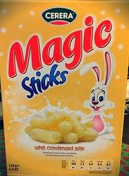 MAGIC STICKS with condensed milk