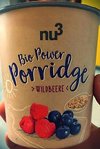 Bio Power Porridge Wildbeere